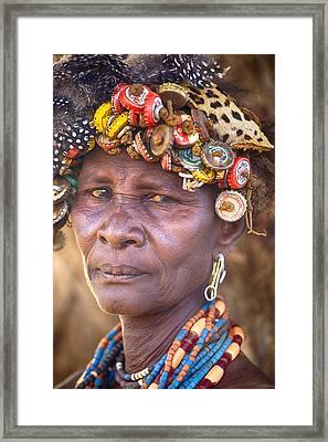 Ethiopia Women Framed Print