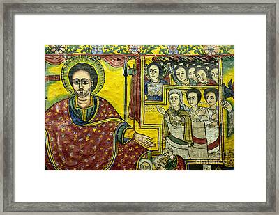 Ethiopian Church Paintings Framed Print