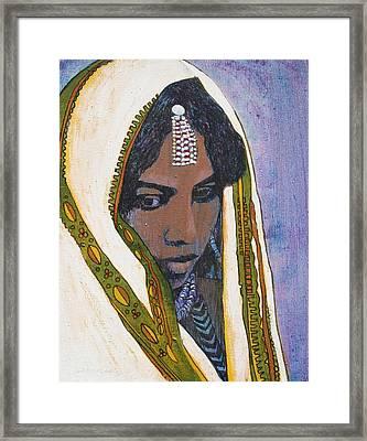 Ethiopian Woman Framed Print by J W Kelly