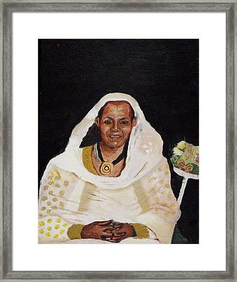 Ethiopian Woman Framed Print by Jeremy Phelps