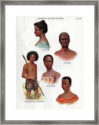 Ethnic Groups Framed Print