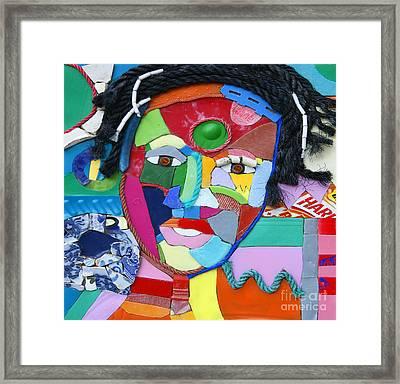 Ethnic Woman Framed Print by Nicola Scott-Taylor