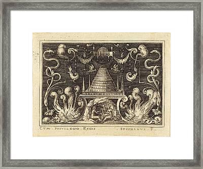 Etienne Delaune French, 1518-1519 - 1583 Framed Print