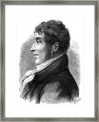 Etienne-gaspard Robert Framed Print by Science Photo Library