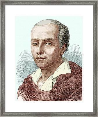 Etienne Montgolfier Framed Print
