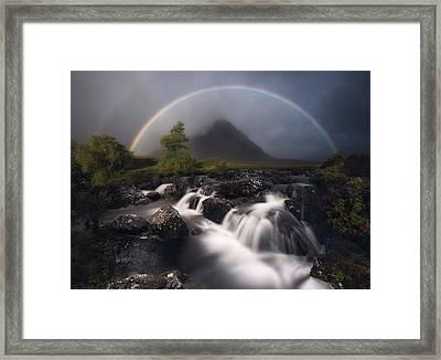 Etive Rainbow Framed Print