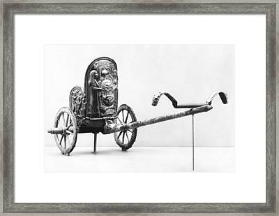 Etruscan Chariot Framed Print by Underwood Archives