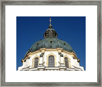 Ettal Abbey Bavaria Framed Print by The Creative Minds Art and Photography