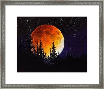 Ettenmoors Moon Framed Print