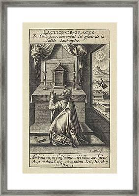 Eucharist, Jacob De Weert Framed Print by Artokoloro
