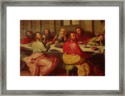 Eucharist Framed Print by Tommytechno Sweden