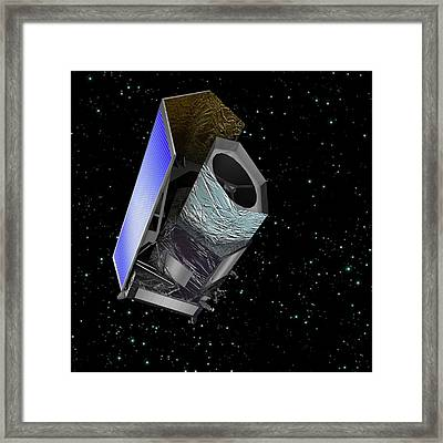 Euclid Space Probe Framed Print