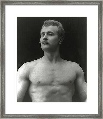 Eugen Sandow Framed Print by American Photographer