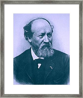 Eugene Boudin Upsized  Framed Print by Wikipedia - L Brown