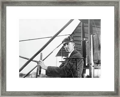 Eugene Burton Ely (1886-1911) Framed Print