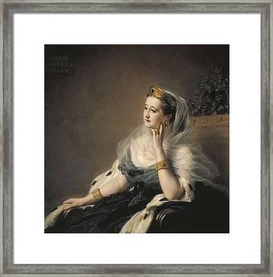 Eugenie, Eug�nia Mar�a De Montijo De Framed Print by Everett