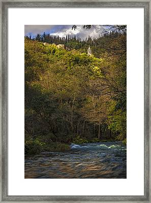 Framed Print featuring the photograph Eume River Galicia Spain by Pablo Avanzini