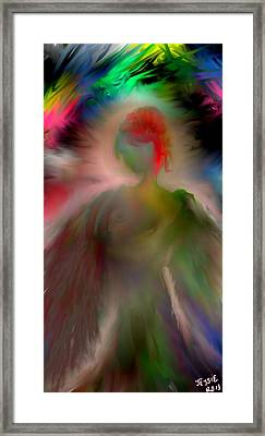 Euphoria Framed Print by Jessica Wright
