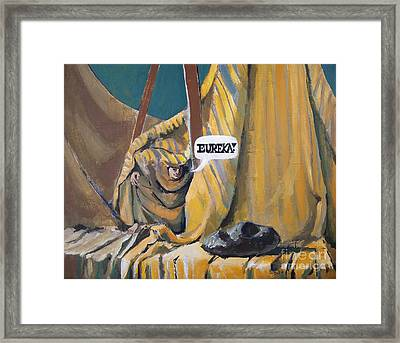 Eureka Framed Print by Anthony Coulson