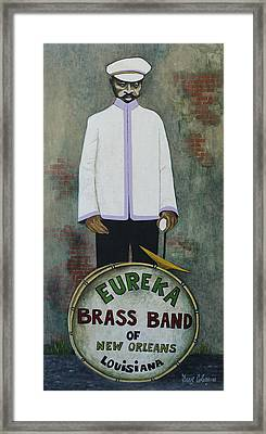 Eureka Brass Band Framed Print by Dave Coleman