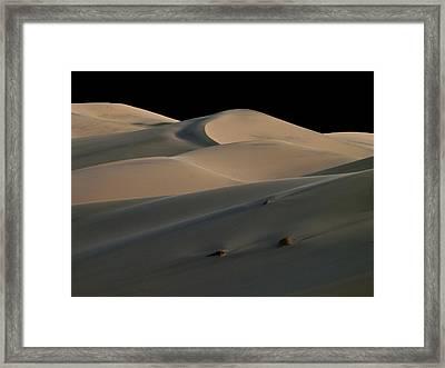 Eureka Dune Dreams Framed Print by Joe Schofield