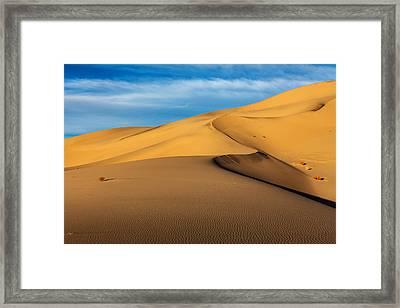 Eureka Dunes Framed Print by James Marvin Phelps