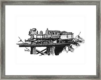 Eureka Loco Framed Print by Sam Sidders