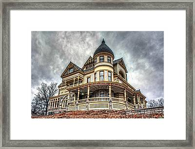 Eureka Springs Victorian Framed Print by Corey Cassaw