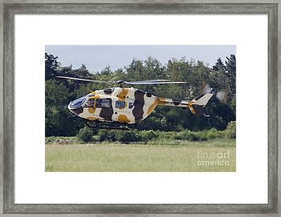 Eurocopter Uh-72a Lakota Of The U.s Framed Print by Timm Ziegenthaler