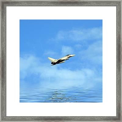 Eurofighter Typhoon Framed Print by Sharon Lisa Clarke