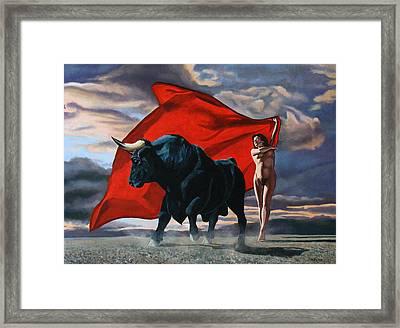 Europa Y El Toro Framed Print by Jo King