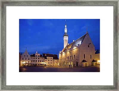 Europe, Estonia, Tallinn Framed Print by Jaynes Gallery
