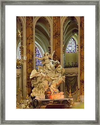 Europe, France, Chartres Framed Print by Charles Sleicher