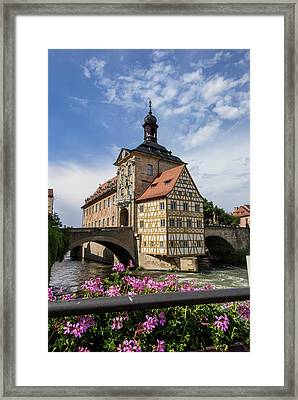Europe, Germany, Bamberg, Altes Framed Print