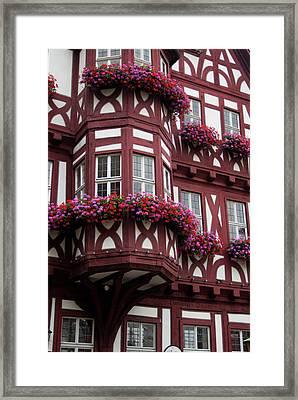 Europe, Germany, Miltenberg Framed Print