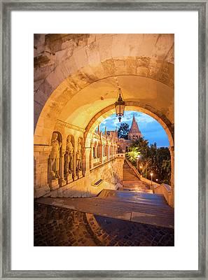 Europe, Hungary, Budapest, Buda Framed Print