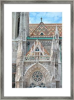Europe, Hungary, Budapest, Matthias Framed Print by Jim Engelbrecht