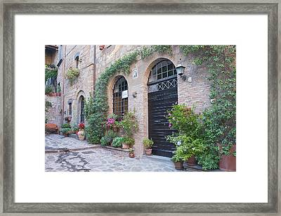 Europe, Italy, Umbria, Civita Framed Print