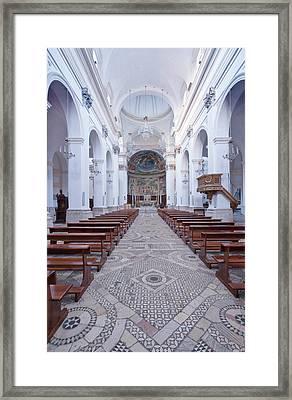 Europe, Italy, Umbria, Spoleto, Duomo Framed Print