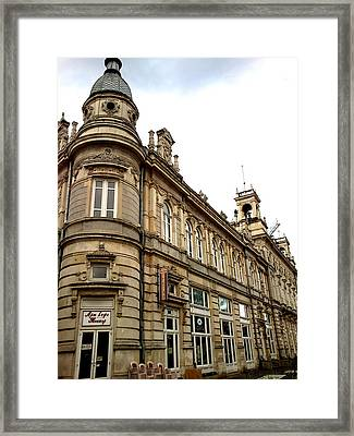 Framed Print featuring the photograph Europe by Lucy D