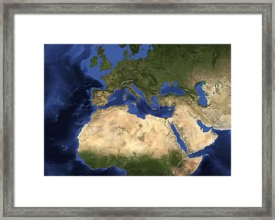 Europe Framed Print by Nasa