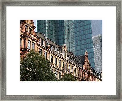 Europe Old And New Framed Print by David and Mandy