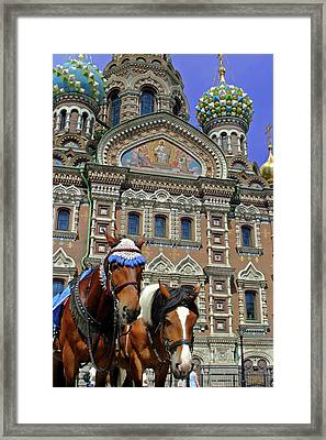 Europe, Russia, St Framed Print