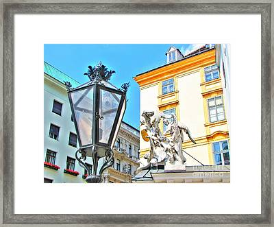 Europe Street Framed Print by Yury Bashkin