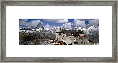 Europe, Switzerland, Zermatt, Gornegrat Framed Print by Tips Images
