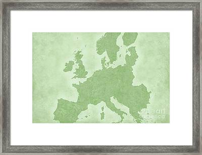 Europe Framed Print by Tina M Wenger