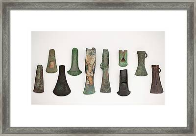 European Axes Framed Print