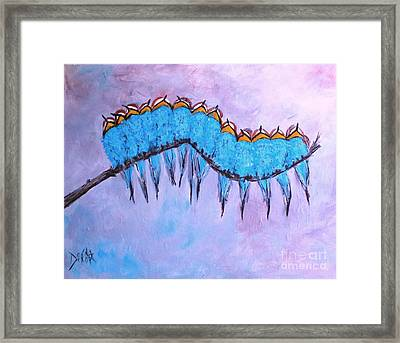 European Bee Eaters Framed Print