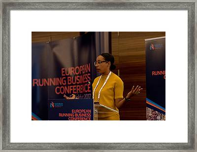 European Running Business Conference Framed Print by Ulrich Roth