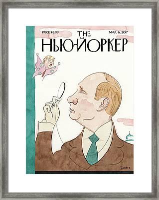 Eustace Vladimirovich Tilley Framed Print by Barry Blitt